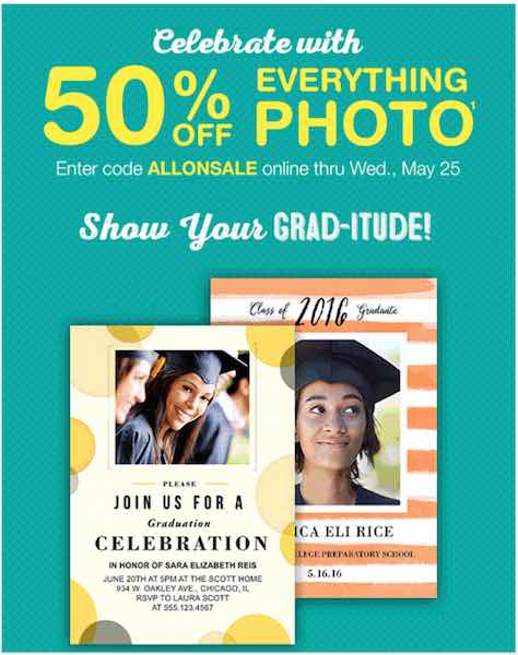 Save On Gifts For Grads 50 Off Everything Photo At Walgreens Today