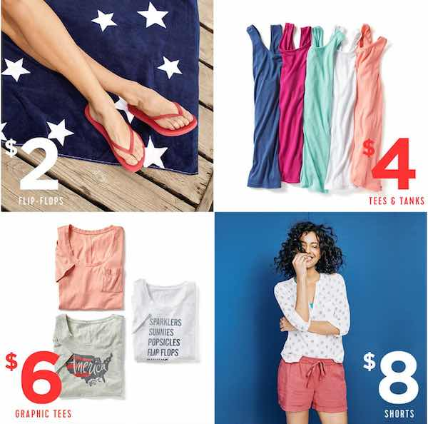 Old Navy 4th