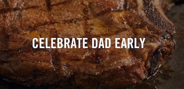 Outback Steakhouse Father's Day
