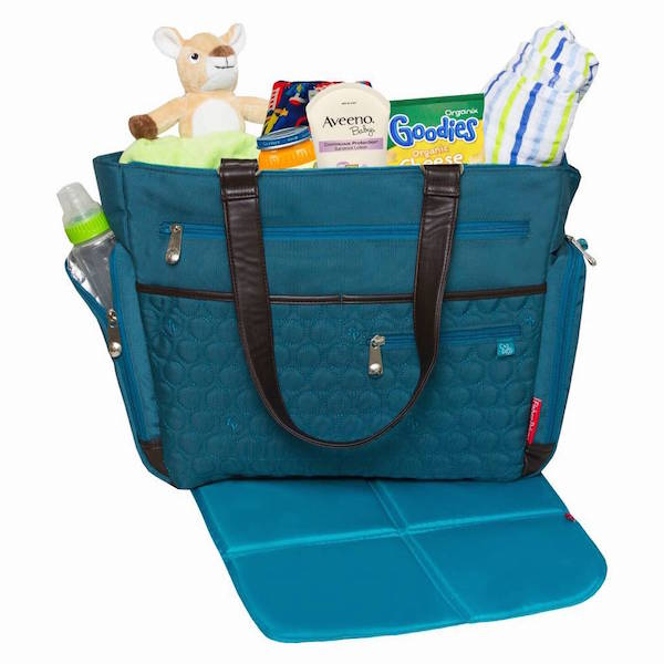 Fisher-Price FastFinder Quilted Diaper Bag
