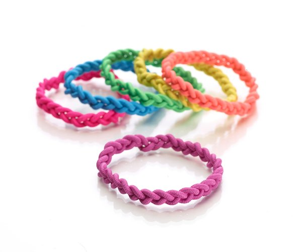 Scunci 3X Braided Stronger Elastics Hair Ties