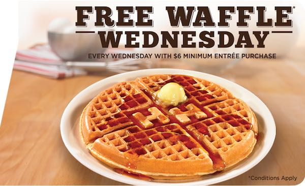 graphic about Huddle House Coupons Printable called No cost Waffles At Huddle Room!