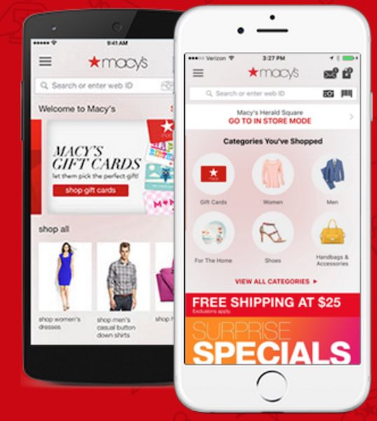New get 25 off macys with their app mojosavings new check out this limited time offer right now download the macys app and get a single use promo code for 25 off your first app order fandeluxe Gallery