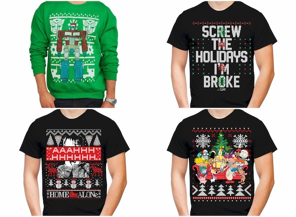 check out these ugly sweaters and tees at walmart shop now and find these mens christmas novelty tees starting at 400 plus you can get these mens - Christmas Sweaters Walmart