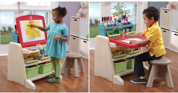 Wondrous Amazon Step2 Flip Doodle Easel Desk With Stool Only Caraccident5 Cool Chair Designs And Ideas Caraccident5Info