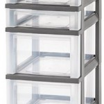 IRIS 4-Drawer Storage Cart with Organizer Top Only $12.99 Shipped!