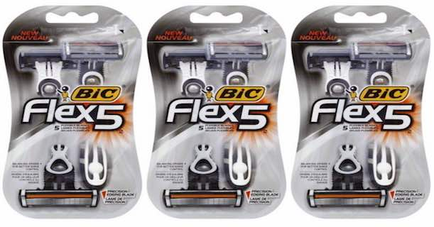 Bic Flex 5 Razor Printable Coupon