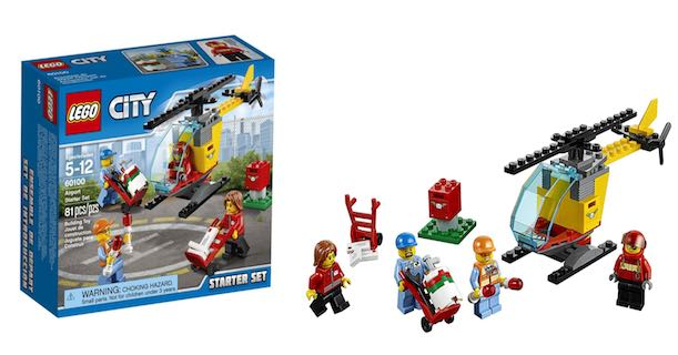 Amazon Get This Lego City Airport Starter Set Only 799
