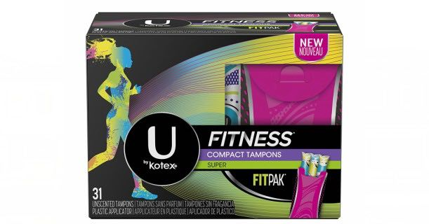 U by Kotex Fitness Feminine Care Tampons