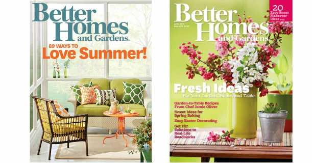 free subscription to better homes gardens magazine - Better Homes And Gardens Free Subscription