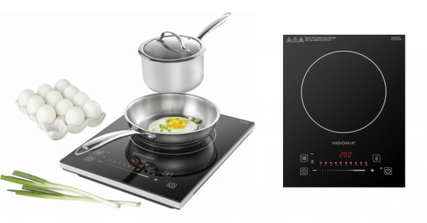 Insignia 4 Piece Induction Cooktop Set In Black Jpg