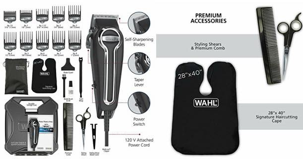 Amazon Wahl Elite Pro High Performance Haircut Kit Just 3997