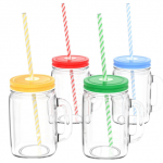 "Fun ""Adulting Sippy Cups"" Mason Jar Set Only $15.99 (Reg $40) Shipped!"