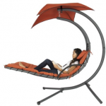 Hanging Chaise Lounger Chairs Only $159.95 (reg $400) Shipped!