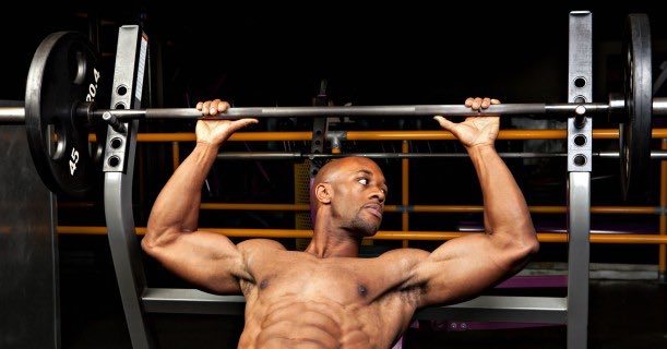 Bench Press Weight Lifting Gym Fitness