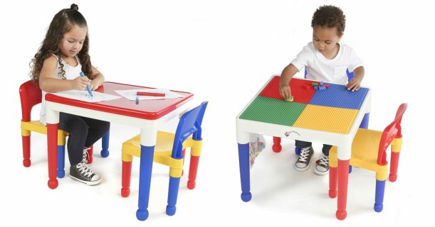 2 In 1 Lego Activity Table 2 Chairs Just 29 99 Shipped