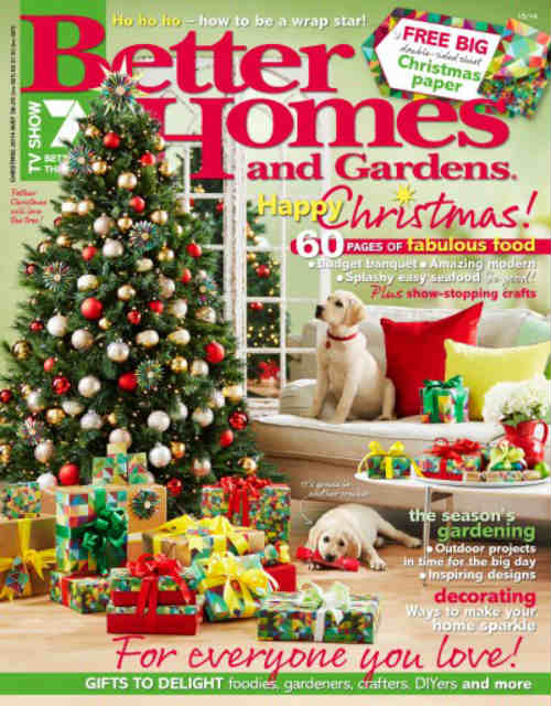 Free Subscription To Better Homes And Gardens Magazine!