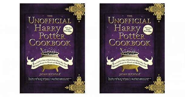 Harry Potter Book Kmart ~ Still available the unofficial harry potter cookbook only