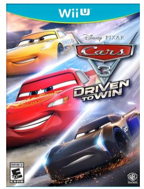 cars 3 driven to win wii u game only shipped. Black Bedroom Furniture Sets. Home Design Ideas