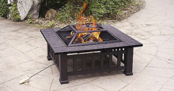 Image result for Axxonn 32″ Alhambra Fire Pit with Cover