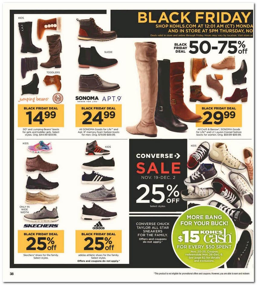 kohl s black friday ad for 2017