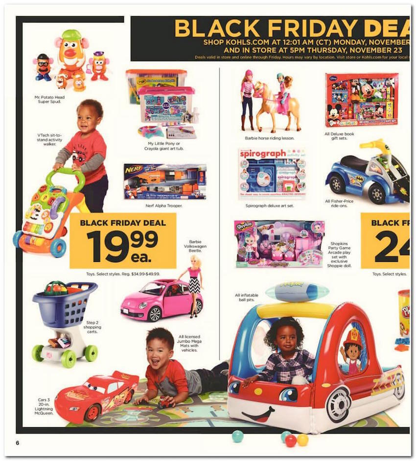 Kohl s black friday ad for 2017 for Michaels craft store black friday hours