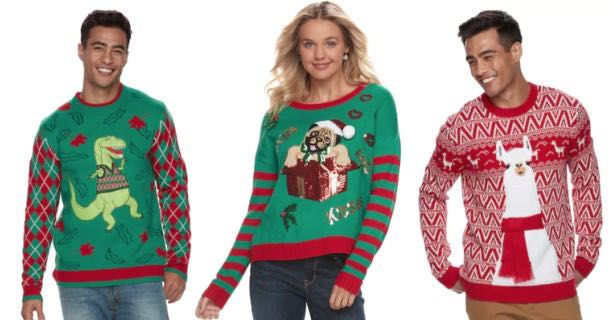 Ugly Christmas Sweaters Only 1699 Reg 60 Mojosavingscom