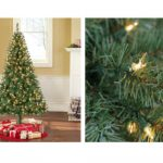 Pre-Lit 6.5′ Madison Pine Green Artifical Christmas Tree Only $39 Shipped!