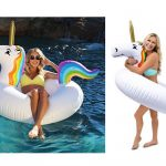 GoFloats Unicorn Party Tube Inflatable Float Only $9.99 Shipped!