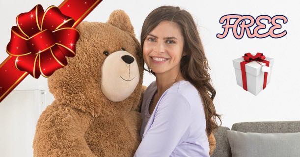How You Would Like To Win A Life Sized Teddy Bear???