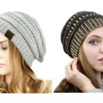 CC Slouch Knit Beanie Only $8.59 + FREE Shipping!