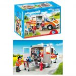 PLAYMOBIL Ambulance with Lights and Sound Only $28.84 + FREE Shipping!