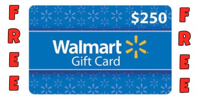 What would you do with a 250 walmart gift card mojosavings who wants a 250 gift card negle Images