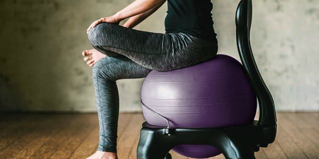 Swell Gaiam Balance Ball Chairs Starting At Just 34 99 Shipped Caraccident5 Cool Chair Designs And Ideas Caraccident5Info