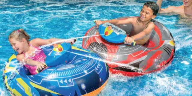 Banzai Obstacle Course Activity Pool Just Reg 80