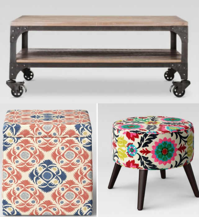 Project 62 Ottomans & Coffee Tables, As Low As $29.03 At