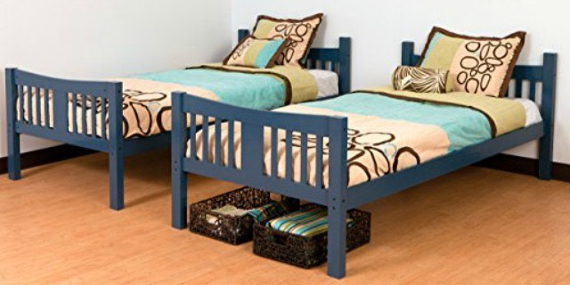 Storkcraft Caribou Twin Bunk Bed Set Just 167 99 Shipped