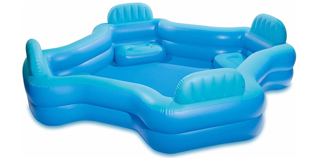 Intex Inflatable Swim Center Family Lounge Pool Just 3997 Shipped