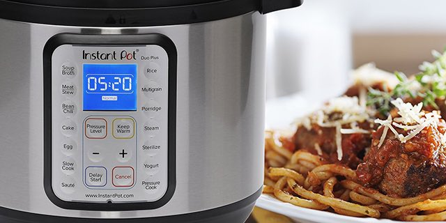 Instant Pot Duo Plus 7 In 1 Pressure Cooker Just 99 95