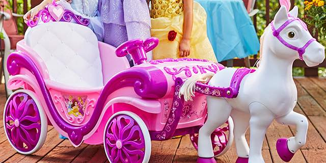 Disney Princess Royal Horse Carriage Ride On 98 00 Shipped