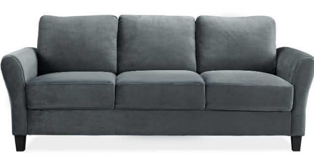 Lifestyle Solutions Alexa Rolled Arm Sofa Just 199 Delivered