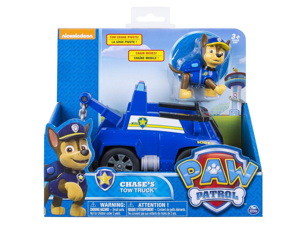 Paw Patrol Chase Tow Truck At Hot Sale