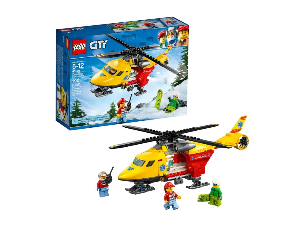60179 LEGO Ambulance Helicopter