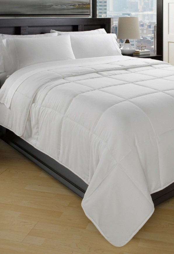 all season down full size comforter reg 99. Black Bedroom Furniture Sets. Home Design Ideas