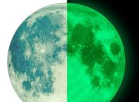 Moon Glow in the Dark Wall or Ceiling Stickers
