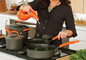 Rachael Ray Nonstick 14 Inch Skillet At Sale