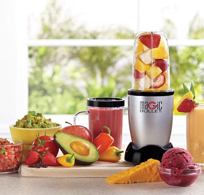 Magic Bullet Blender Silver At Discount