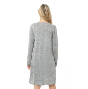 Marled Open Front Longline Cardigan At Sale