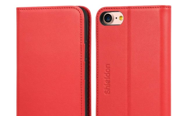 SHIELDON Genuine Leather iPhone Case