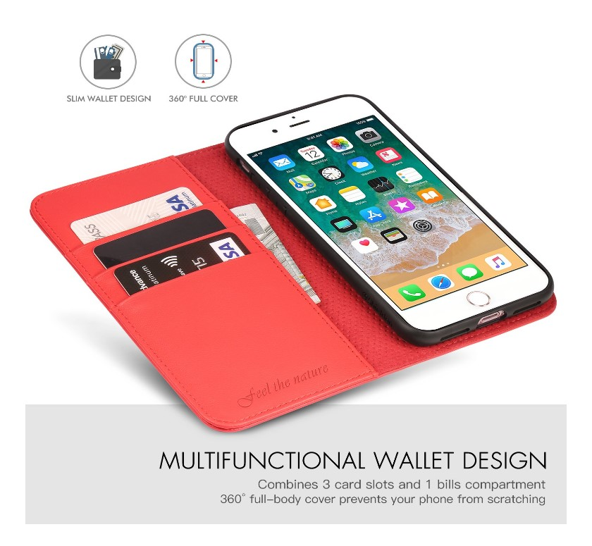 SHIELDON Genuine Leather iPhone Case At Discount